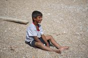 Travel photography:Kid in Budva, Montenegro