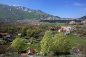 Travel photography:Landscape between Kotor and Lovcen National Park, Montenegro
