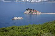 Travel photography:Sveti Stefan (Saint Stefan), Montenegro