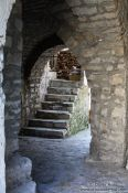 Travel photography:Narrow alley in Ulcinj, Montenegro