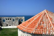 Travel photography:Inside Ulcinj fortress, Montenegro