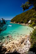 Travel photography:Small bay in Abel Tasman National Park, New Zealand