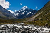 Travel photography:View of Mt Cook in Mount Cook National Park, New Zealand