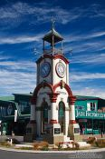 Travel photography:Hokitika clock tower, New Zealand