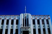 Travel photography:Napier Daily Telegraph building, New Zealand