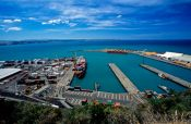 Travel photography:Napier port, New Zealand