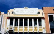 Travel photography:Napier Parkers Chambers building, New Zealand