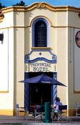 Travel photography:The Provincial Hotel building in Napier, New Zealand