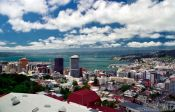 Travel photography:Panorama of Wellington City, New Zealand
