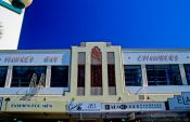 Travel photography:Napier Hawke`s Bay Chambers building, New Zealand