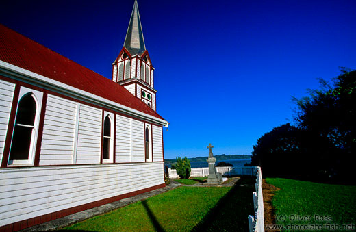 Church near Kohukohu (Northland)