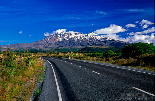 Mount Ruapehu in the Tongariro Ntl Park
