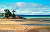 Travel photography:Beach on Great Barrier Island, New Zealand