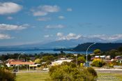 Travel photography:Taupo township, New Zealand