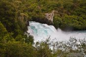 Travel photography:Huka falls near Taupo, New Zealand