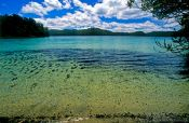 Travel photography:Lake Waikareiti in Te Urewera Ntl Park, New Zealand