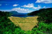 Travel photography:View of Lake Waikaremoana from State Highway 38, New Zealand