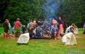 Travel photography:Participants at The Gathering 2000, New Zealand