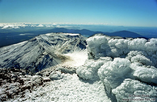 Ice Formations on Mt Ngauruhoe