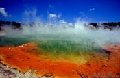 Travel photography:The Waiotapu Champagne Pool, New Zealand
