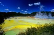 Travel photography:The Waiotapu thermal area, New Zealand