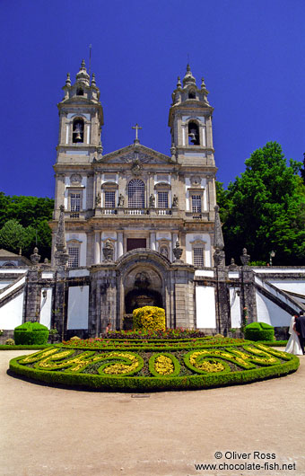 The Sanctuary of Bom Jesus do Monte in Braga
