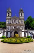 Travel photography:The Sanctuary of Bom Jesus do Monte in Braga, Portugal