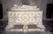 Travel photography:Tomb inside the Mosteiro dos Jeronimos, Portugal