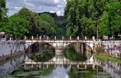 Travel photography:Bridge in Leiria, Portugal