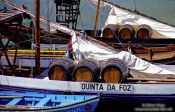 Travel photography:Rabelo Boats on the River Douro in Porto, Portugal