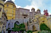 Travel photography:Sintra Castle (Palácio Nacional da Pena), Portugal