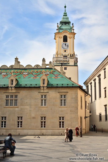 The old town hall in Bratislava