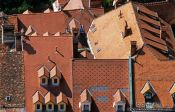 Travel photography:Rooftops in Ljubljana, Slovenia