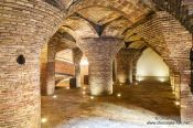 Travel photography:Stables in Barcelona´s Palau Güell, Spain