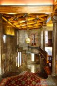 Travel photography:Antechamber in Palau Güell, Spain