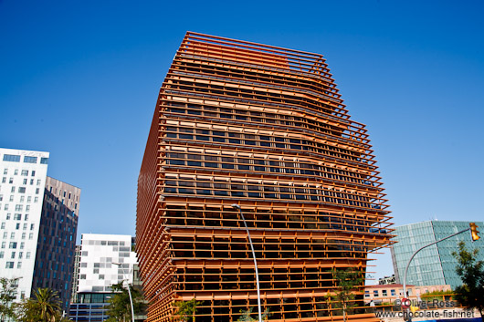 Modern architecture in Barcelona´s Poblenou district
