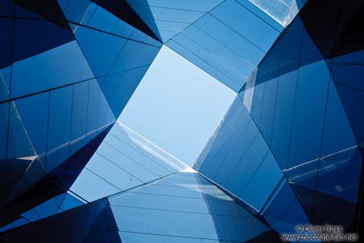 Skylight in the Barcelona Natural History Museum (Museu Blau)
