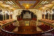 Travel photography:Barcelona Palau de la Musica Catalana, Spain