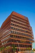 Travel photography:CMT headquarters in Barcelona´s Poblenou district, Spain