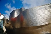 Travel photography:Bilbao Guggenheim Museum, Spain