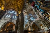 Travel photography:Inside Avila Cathedral, Spain