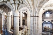 Travel photography:Inside Salamanca cathedral, Spain