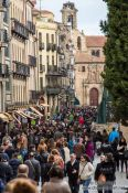 Travel photography:Salamanca street, Spain