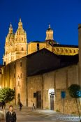 Travel photography:Salamanca street by night, Spain