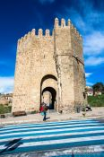 Travel photography:Tower at the Bajada San Martin in Toledo, Spain