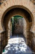 Travel photography:Small gate in Toledo, Spain