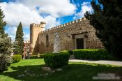 Travel photography:Toledo city wall, Spain