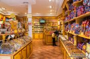 Travel photography:Toledo marzipan shop, Spain