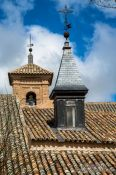 Travel photography:Toledo roofs, Spain