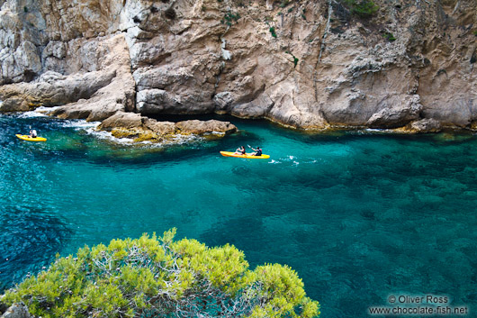 Kayaking the Costa Brava